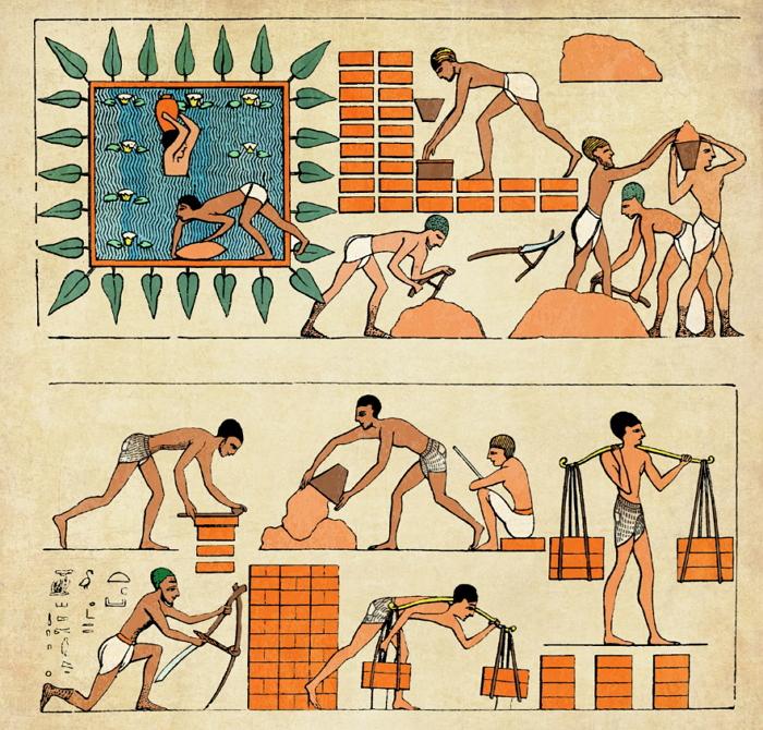 이집트 파라오의 이스라엘 학대