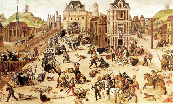 성바르톨로메오축일의 대학살