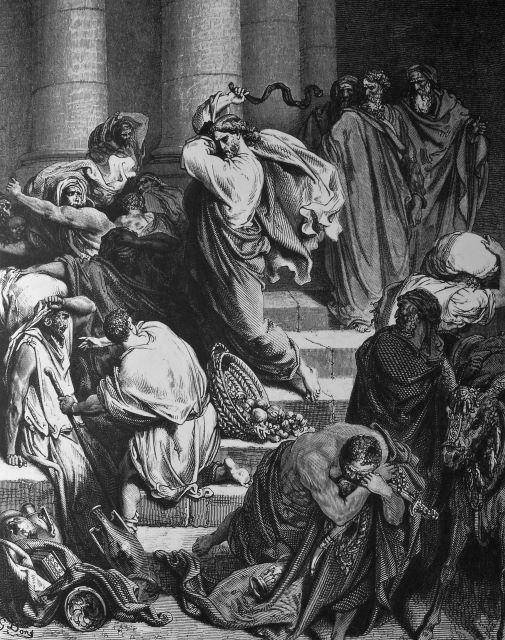 종교개혁 예수님 성전