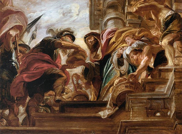 피터 폴 루벤스 作 아브라함과 멜기세덱의 만남