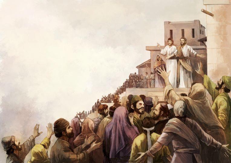 이른비-초대교회 오순절 성령의 역사