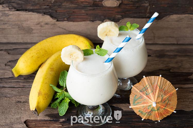 바나나색, 바나나맛 우유