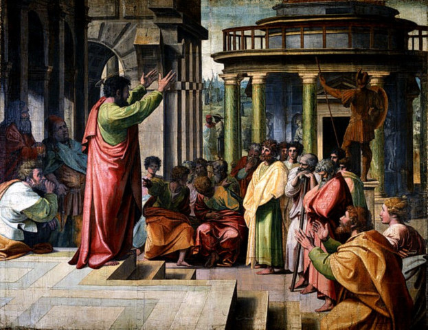 하나님의 교회를 증거한 사도 바울