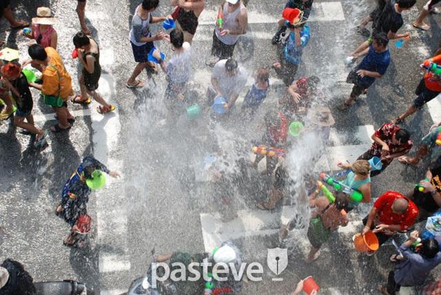 태국 송끄란(Songkran) 축제