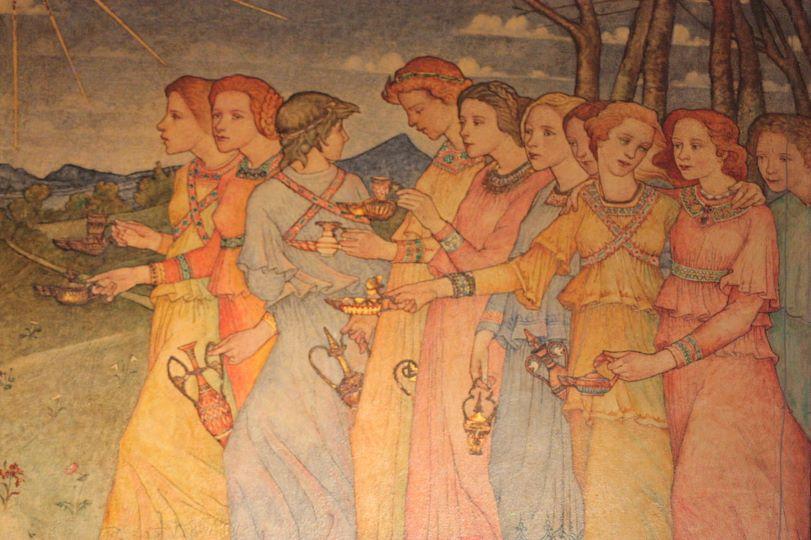 슬기로운 다섯 처녀, 미련한 다섯 처녀